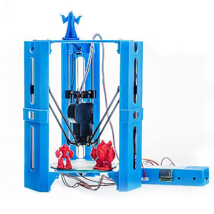 Mini DIY Impresora 3D montada del escritorio Impresión 100 * 100m m Soporte del tamaño de la impresión Fuera de línea 1.75mm 0.4mm Boquilla