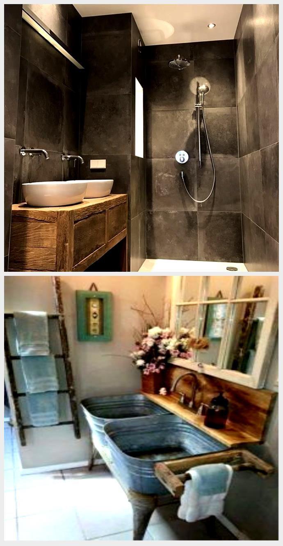 Altes Holz Im Badezimmer Restylexl Produkt Im Bild Homepage Fur Badezimmer In 2020 Altholz Badezimmerspiegel Badezimmer
