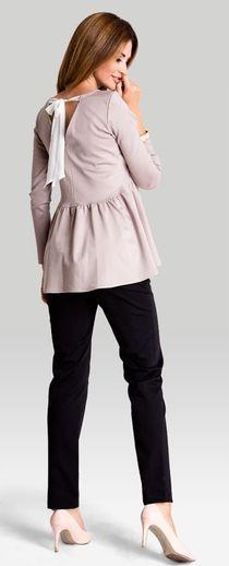 Lady beige блуза для беременных