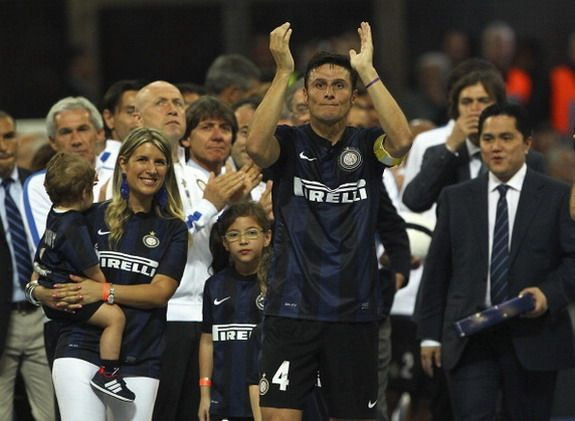 Addio! Javier Zanetti bids emotional farewell to San Siro