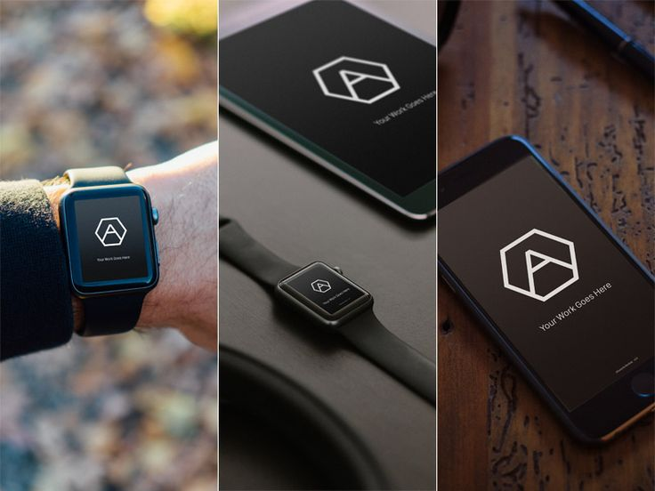 Mobile Apple Devices Mockups