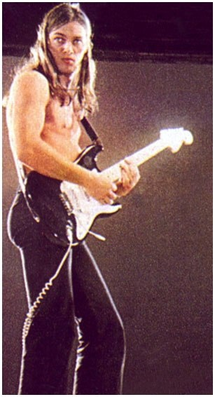 David Gilmour. Perfection... he is a genius.