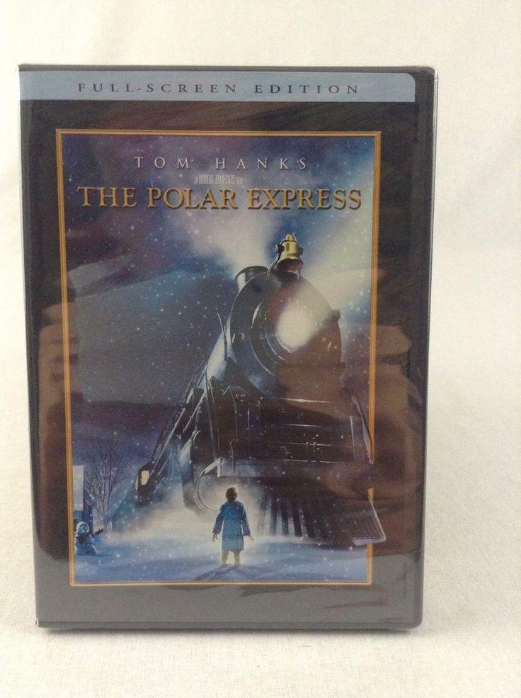 New Sealed 2004 Full Screen Edition The Polar Express DVD Tom Hanks Christmas