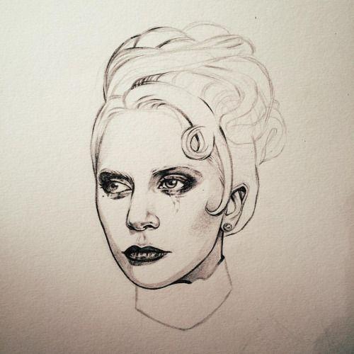Countess Elizabeth, in progress. 💋