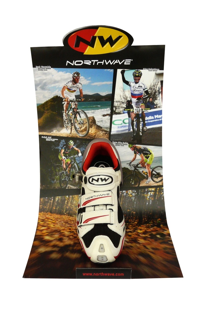 Northwave - shoe display - mtb edition