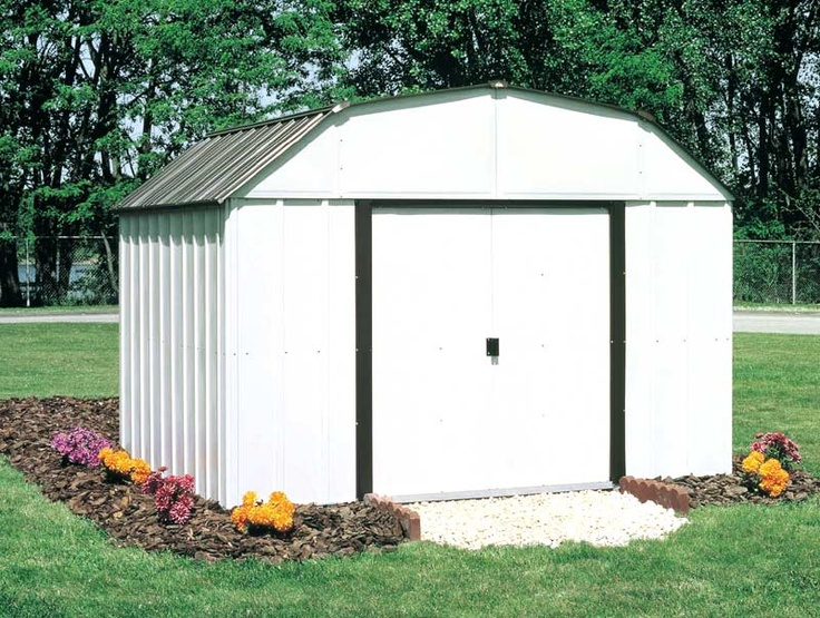 12 best portable garages shelters images on pinterest for Garden shed 5x7