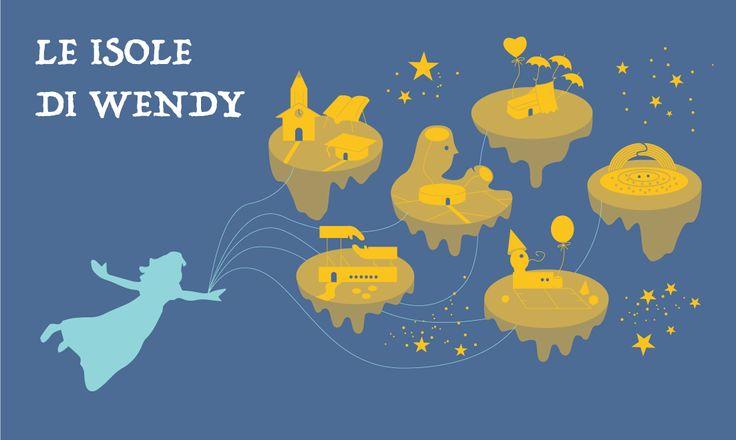 Le isole di Wendy - illustrazione