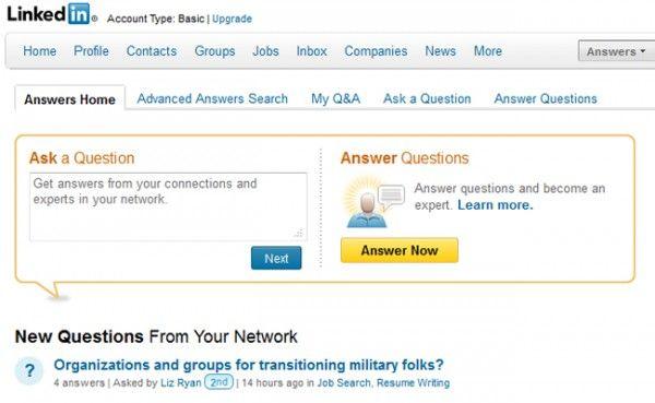 LinkedIn Tips nr 8 – Husk Answers-funksjonen