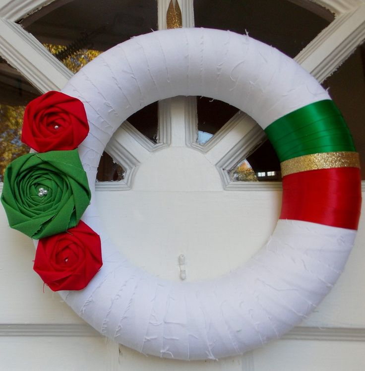Christmas Wreath - eclectic - holiday decorations - other metro - Belle Rose Designs