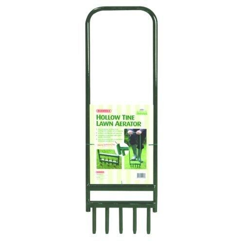 "Bosmere N460 Hollow Tine Lawn Aerator with 5 Tines 35"" x 11"""