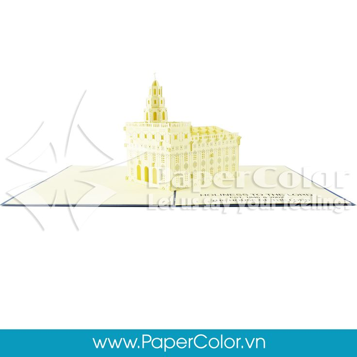 Nauvoo Temple - Illinois, US Give your love's one our 3D Pop up card when a normal card is not enough to express your heart. Let us say your feeling ^^ =>>>> Contact me: Email: yhuynh@papercolor.net Whatsapp: +84 94 222 9707  #popupcard, #3dcard, #wholesale3dcard, #cheappopupcard, #beautiful3Dcard, #lovely3Dpopupcard, #highquality3dcard, #landmarkpopupcard, architecture3dcard,