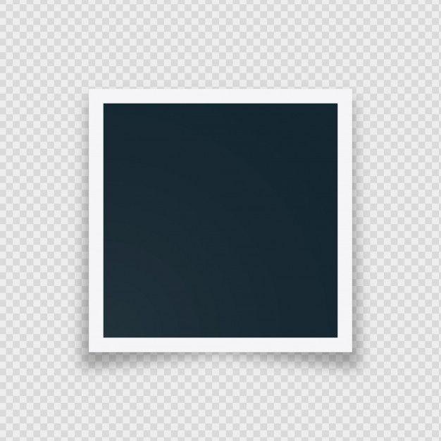 Download Retro Blank Instant Photo Frame For Free Moldura Para