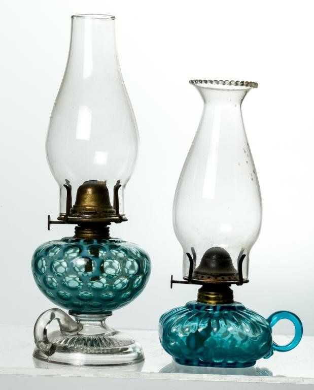 Salt Lamp Leaking Oil : OPALESCENT PEDISTAL FINGER LAMP AND A SECOND : Lot 1023 You Light Up My Life Pinterest ...