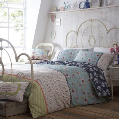At home with Ashley Thomas Patchwork 'Heirloom' bed set- at Debenhams.com
