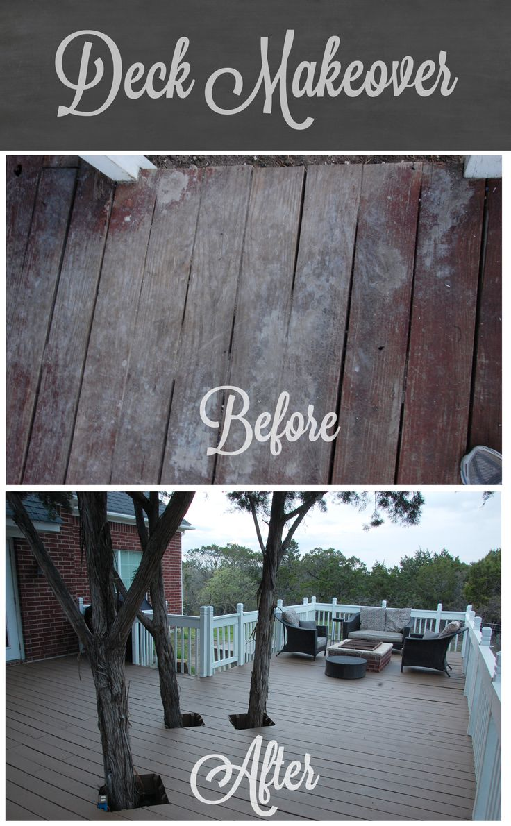Deck Makeover with Olympic Rescue It