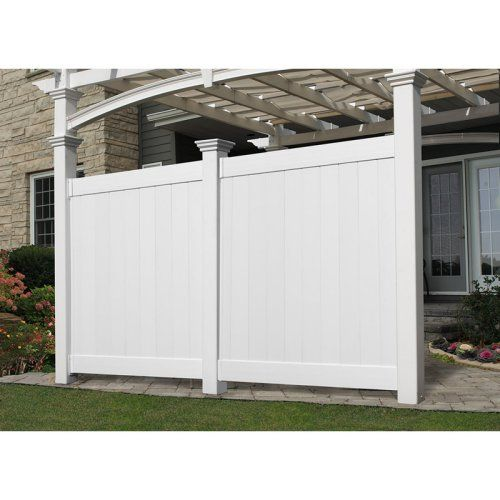 New England Arbors Flat Privacy Wall - Outdoor Privacy Screens at Hayneedle