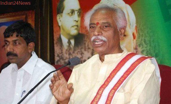 Union Labour Minister Bandaru Dattatreya honoured for undertaking EPFO cadre restructuring