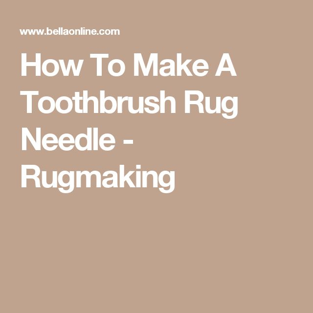 Youtube Toothbrush Rag Rug: 25+ Best Ideas About Toothbrush Rug On Pinterest