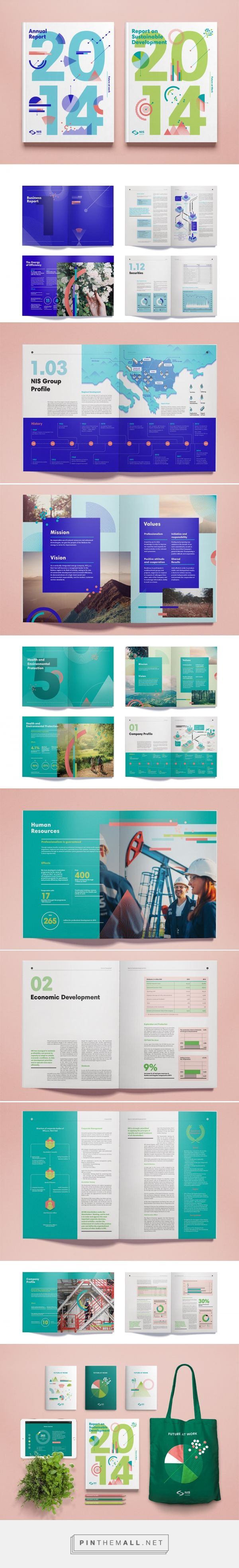 NIS Annual Report 2014 on Behance … More