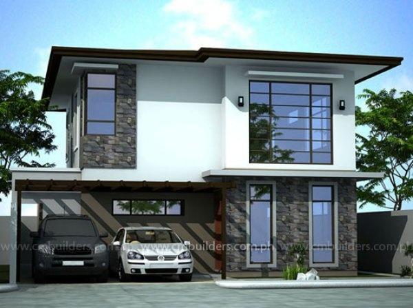 Modern zen cm builders inc philippines home ideas for Zen type house design philippines