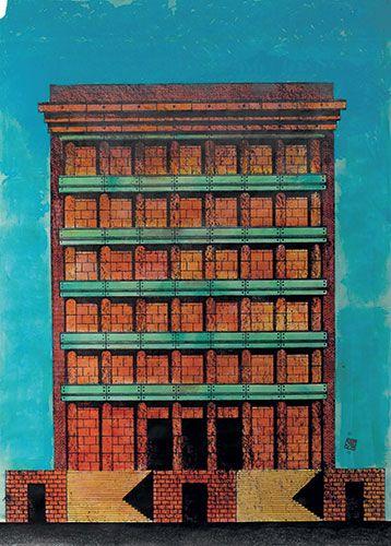 Complesso alberghiero e ristorante Il Palazzo, Fukuoka, 1987-1989 » ALDO ROSSI