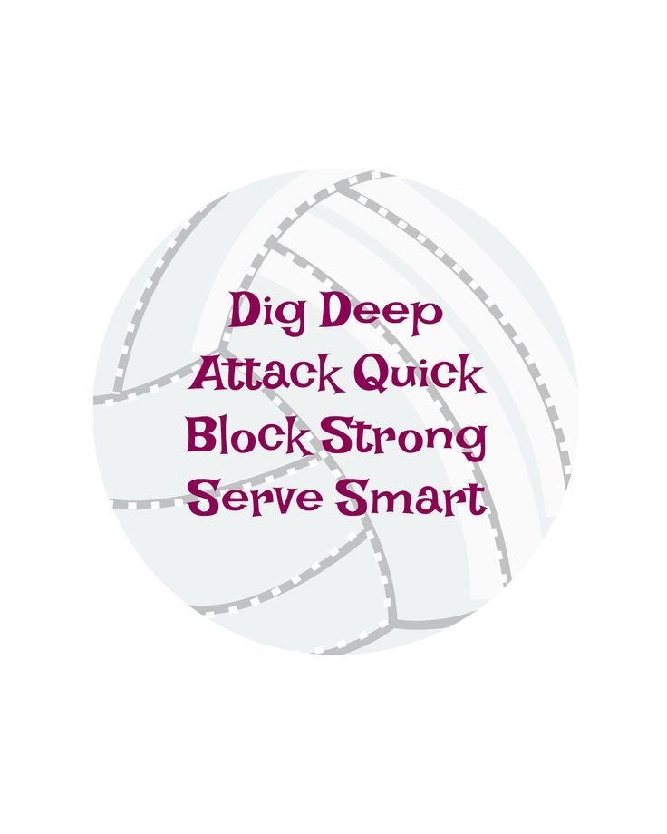 Volleyball Quote- digital download- 8 x 10 by Pinkrockofhope.etsy.com