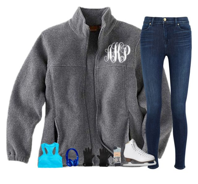 """""""{Ice Skating ⛸}"""" by kaitlynbug1226 ❤ liked on Polyvore featuring J Brand, Alpine, UGG Australia, Beats by Dr. Dre, Riedell, women's clothing, women, female, woman and misses"""
