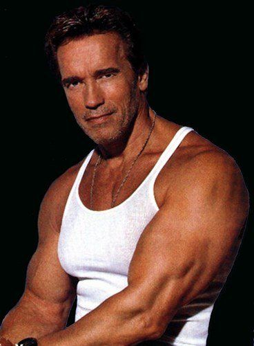 Arnold Schwarzenegger / Annie Leibovitz