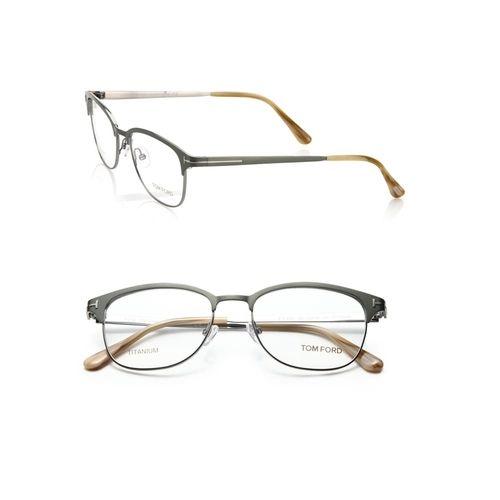 52MM Rectangular Titanium Optical Glasses by Tom Ford in X-Men: Apocalypse