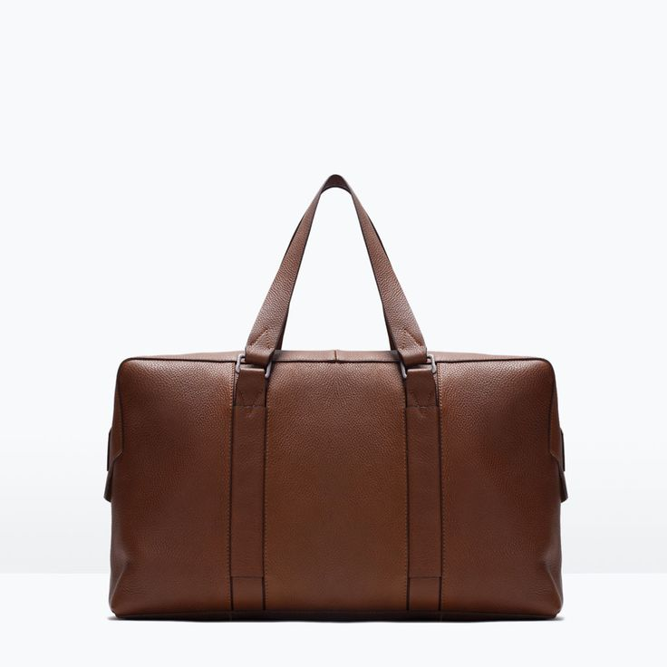 ZARA - SHOES & BAGS - LEATHER BOWLING BAG