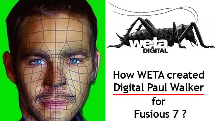 Paul Walker Body Doubles and CGI in Furious 7 by WETA