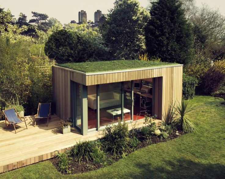 Studio ideas green roofs and garden studio on pinterest for The garden studio