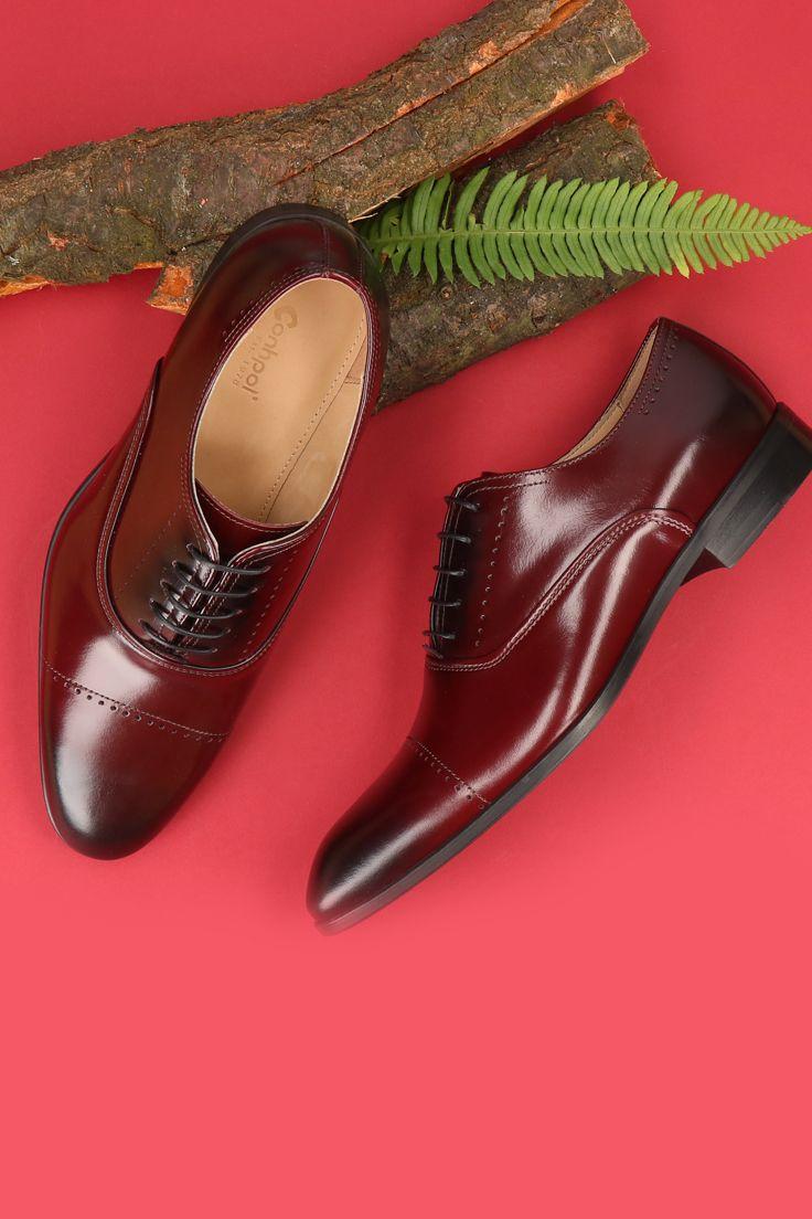 Polbuty Meskie Skorzane Brazowe Kellen Ce6102 01 In 2020 Dress Shoes Men Oxford Shoes Dress Shoes