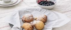 Curtis Stone | Ricotta Fritters with Quick Mixed Berry Jam