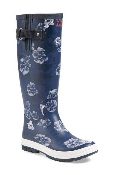 Helly Hansen 'Veierland' Rain Boot available at #Nordstrom.. Thank you #bestboyfriend ever!