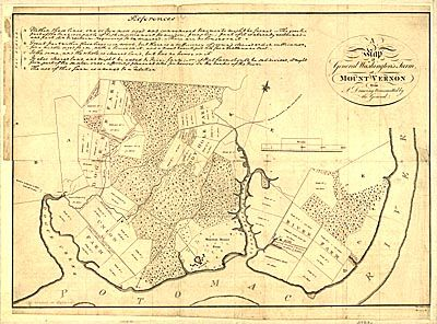 Historic Map Collection -- General Washington's Farm of Mount Vernon, 1801 https://www.theamericansurveyor.com/storefront/view_item.php?_item_id=22#