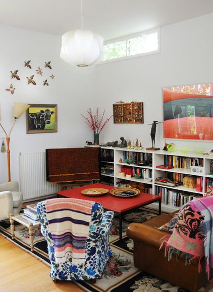 214 best cheerful, eclectic living rooms images on pinterest