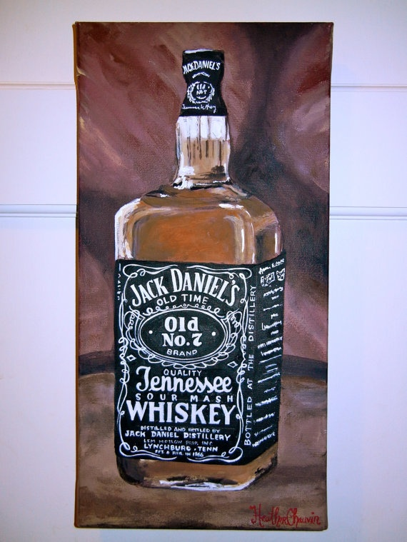 jack daniels bottle drawing - photo #20