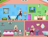 Barbie house decoration free online games