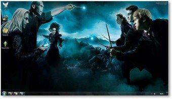 Harry potter-Deathly Hallows windows 7 theme @ Windows7themer.com