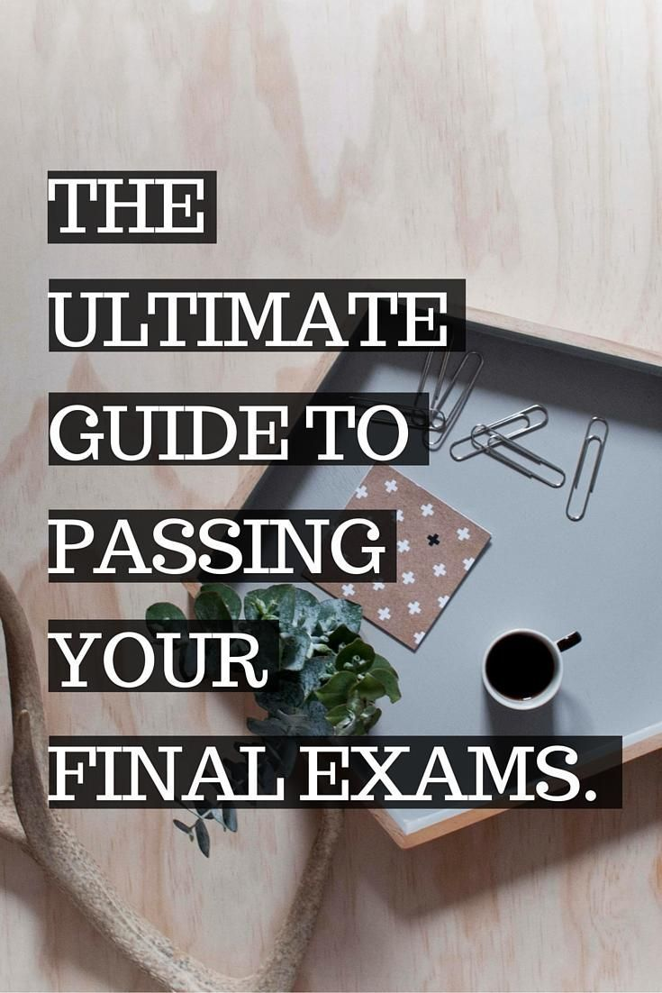 Final Exam season is upon us and college students everywhere are freaking out. But no fear! A bunch of college bloggers teamed up to bring you the BEST study tips to help you pass your final exams and beyond!