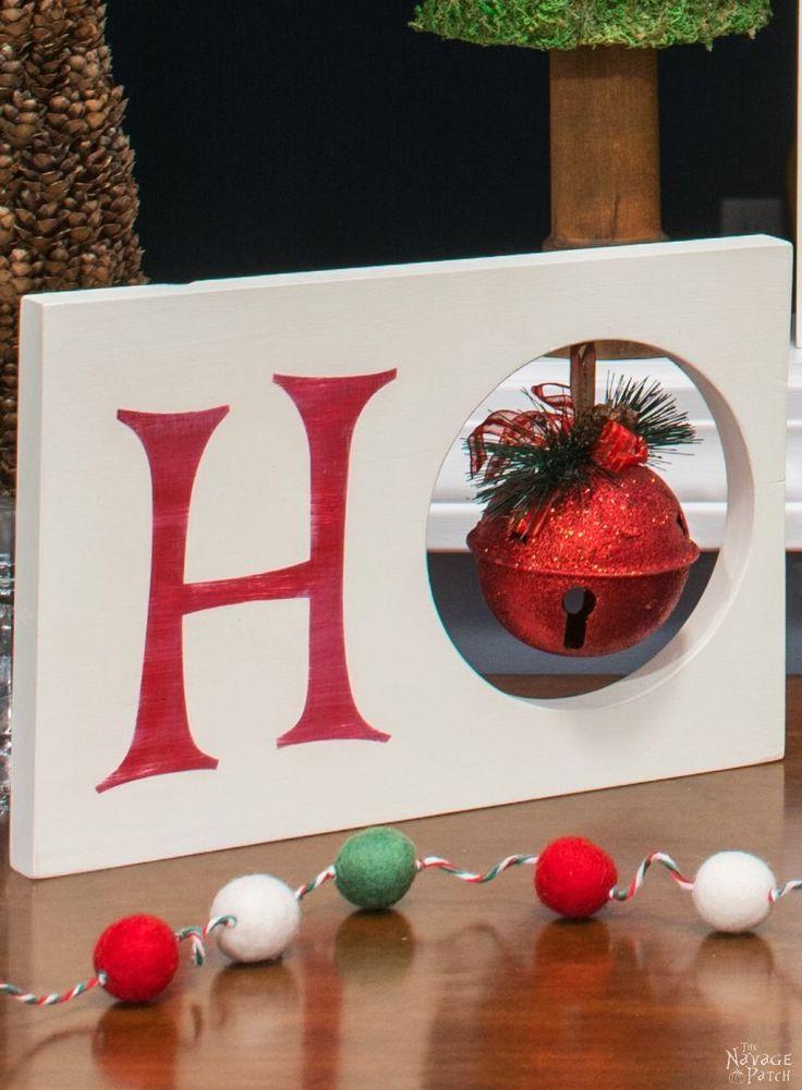 HO HO HO Christmas Decor - The NavagePatch.com