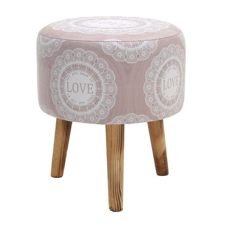 Stool With Wooden Legs - Stools - FURNITURE - inart