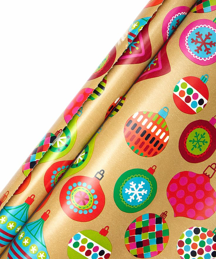 Krafty Baubles Gift Wrap Roll - Set of Two
