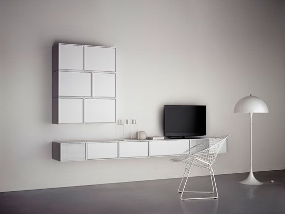 'Montana Shelving system' by Peter J. Lassen for Montana Møbler (DK) - Pinned by Tyler