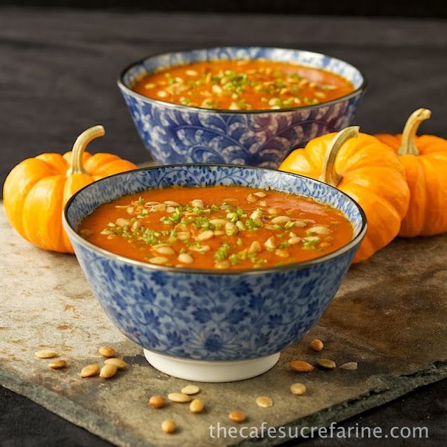 The Café Sucré Farine: Southwestern Pumpkin & Roasted Red Pepper Soup