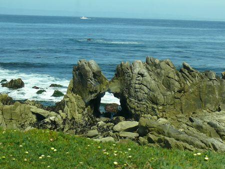 Ficam na linha costeira de Pacific Grove, na Califórnia, e a Life Magazine chamou-lhe o local mais romântico dos Estados Unidos.