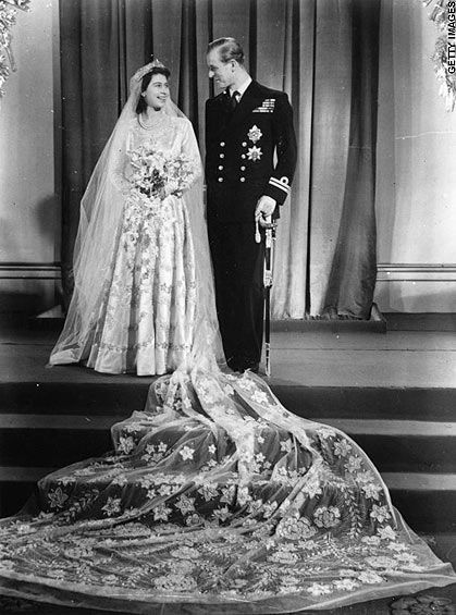 Princess Elizabeth and Prince Phillip, 1947
