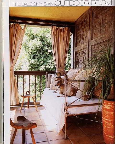 Bedroom Balcony     CASA DE HO