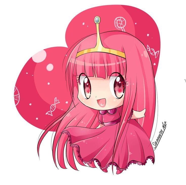 princess bubblegum chibi anime by keitenstudio.deviantart.com on @deviantART